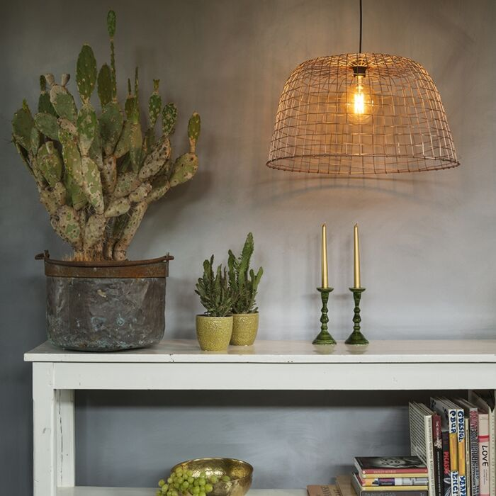 Pendant-Lamp-Basket-60-Copper