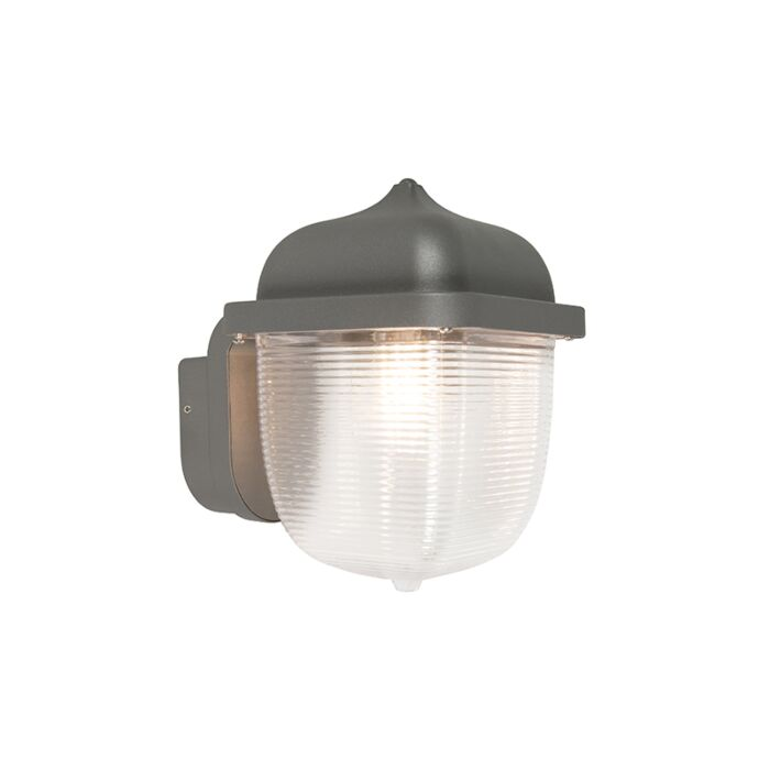 Exterior-wall-light-anthracite-IP44---Trans