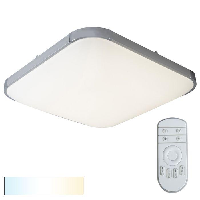 Ceiling-Lamp-Placa-2-Square-White