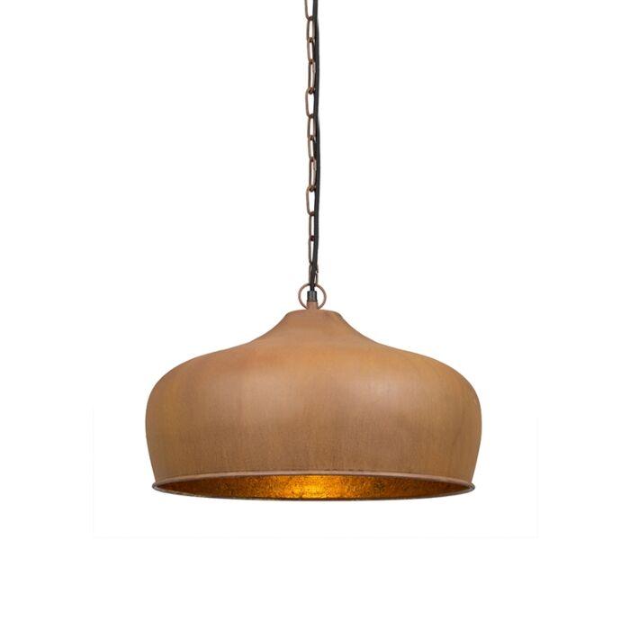 Vintage-hanging-lamp-rust-brown---Colt
