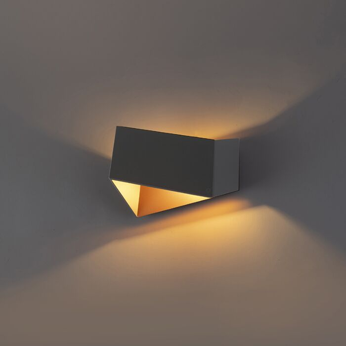 Wall-lamp-Fold-gray-with-copper