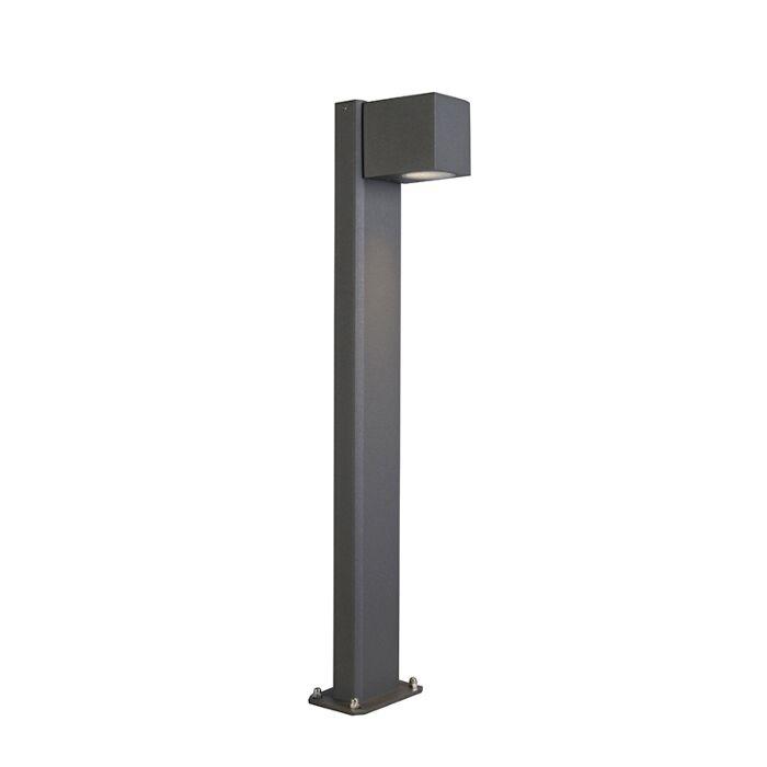 Industrial-standing-outdoor-lamp-anthracite-65-cm-IP44---Baleno