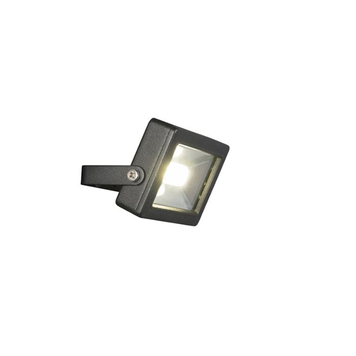 Modern-radiator-black-incl.-LED-10W---Telix