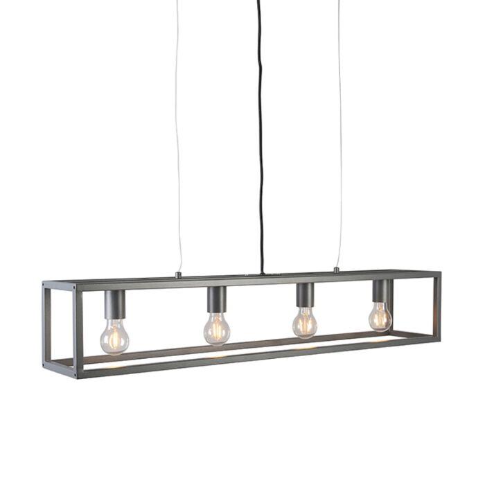 Modern-hanging-lamp-anthracite---Cage-4