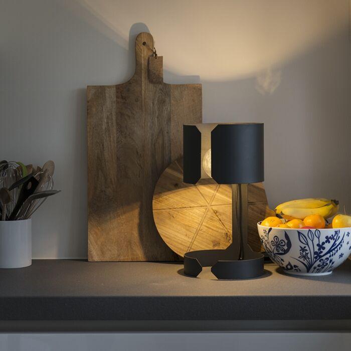 Design-table-lamp-matt-black---Waltz