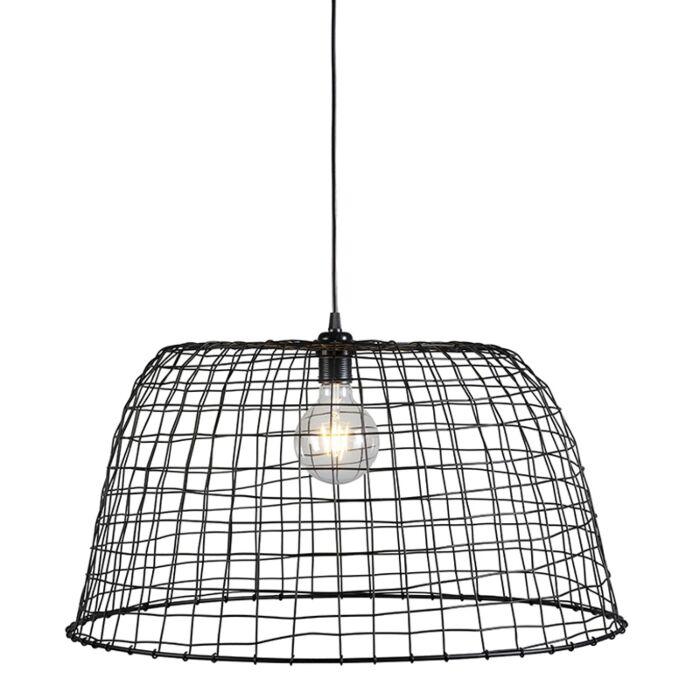 Pendant-Lamp-Basket-60-Black
