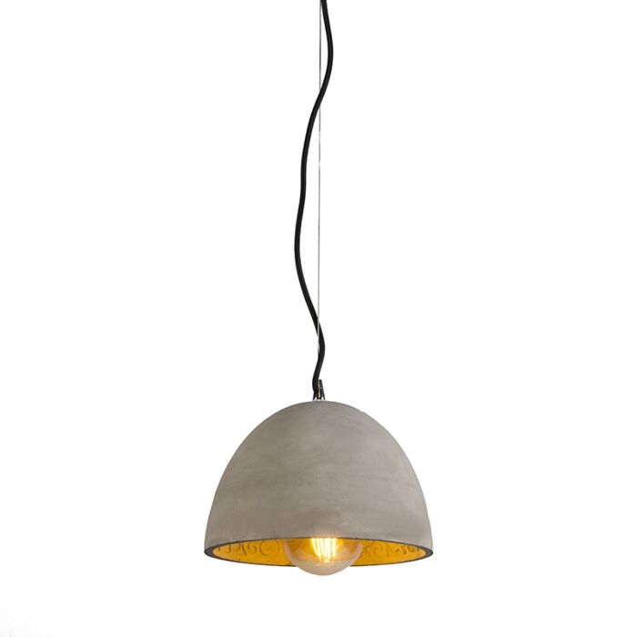Pendant-Lamp-Cupola-Concrete