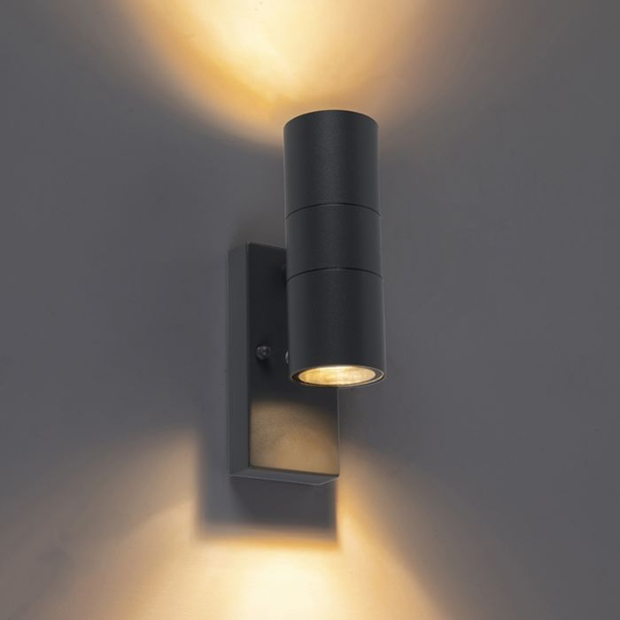 Outdoor-Wall-Lamp-with-Twilight-Switch-Anthracite-IP44---Duo