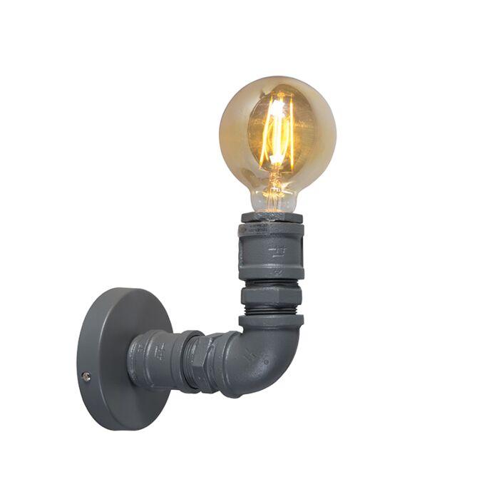 Industrial-wall-lamp-dark-gray---Plumber-1