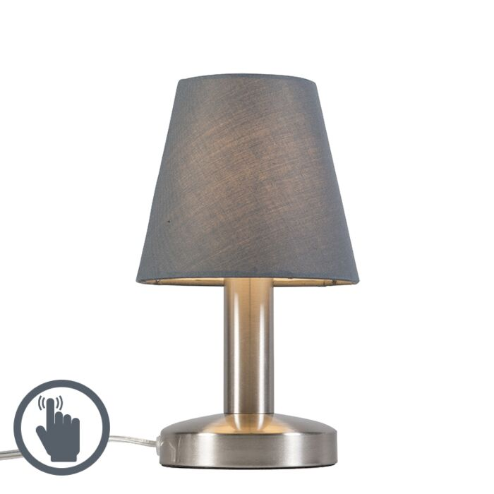 Table-Lamp-Bello-Touch-Grey