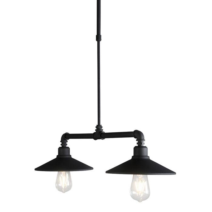 Pendant-Lamp-2-Laser-Black