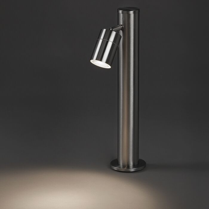 Modern-outdoor-lamp-steel-45-cm-adjustable---Solo