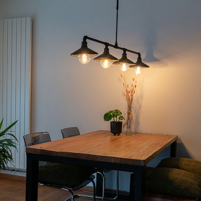 Industrial-hanging-lamp-black---4-Laser