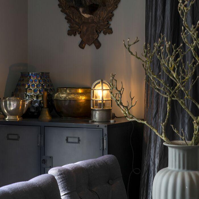 Industrial-Table-Lamp-Nickel---Torra