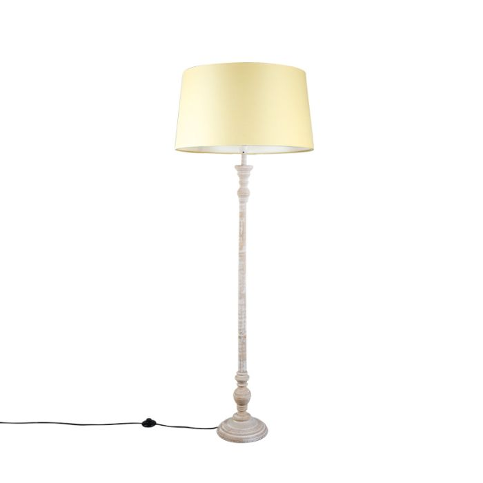 Floor-Lamp-Classico-Grey-with-Cream-Shade