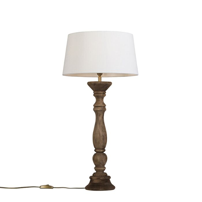 Table-Lamp-Ritual-Natural-with-Shade-35cm-White