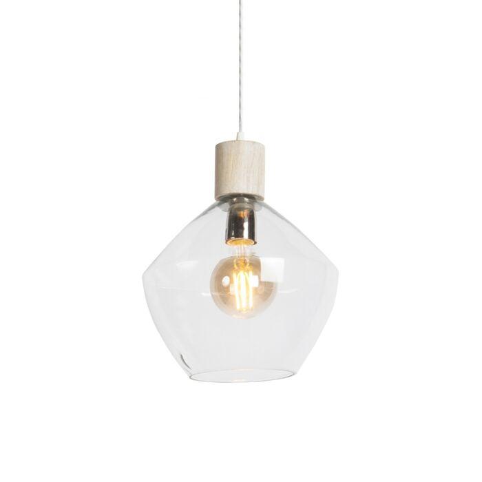 Pendant-Lamp-Alva-Clear-Glass-Shade