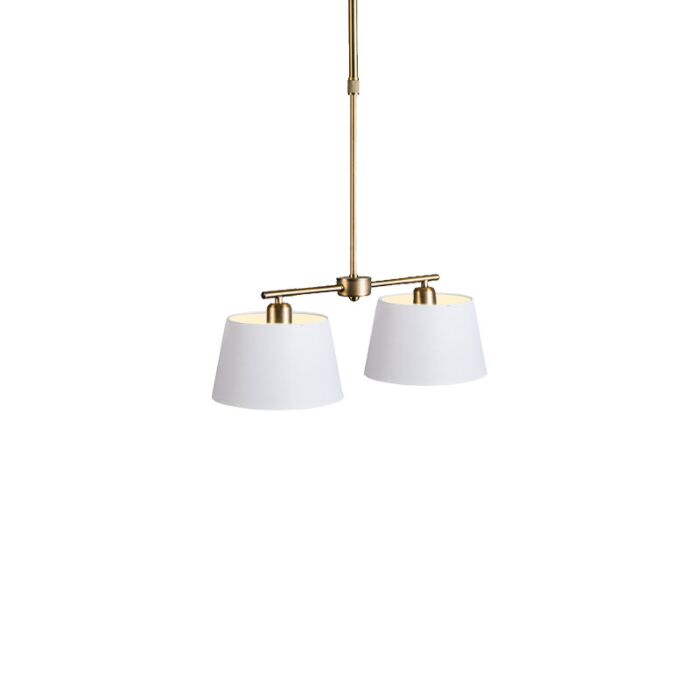 Pendant-Lamp-Mix-2-Bronze-with-Dimmer-Switch-and-White-Shade