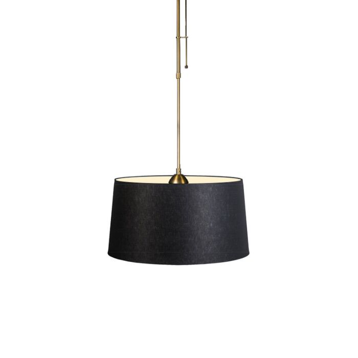 Pendant-Lamp-Mix-1-Bronze-with-Dimmer-Switch-and-Black-Shade