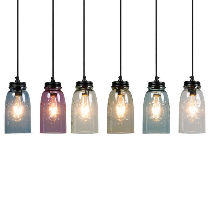 Set-of-6-Pendant-Lamp-Masons
