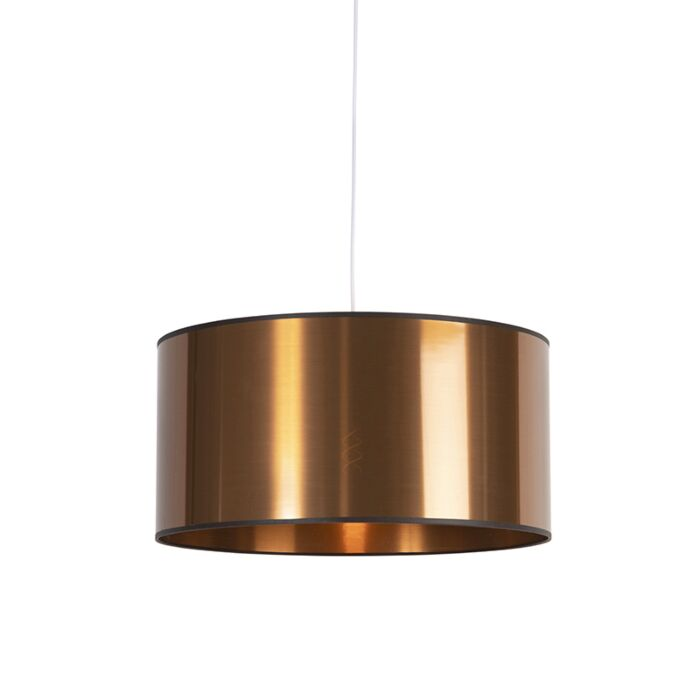 Art-Deco-hanging-lamp-white-with-copper-shade-50-cm---pendant