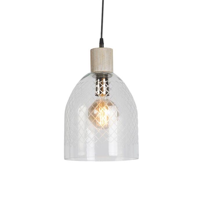 Pendant-Lamp-Agha-Clear-Glass-Shade