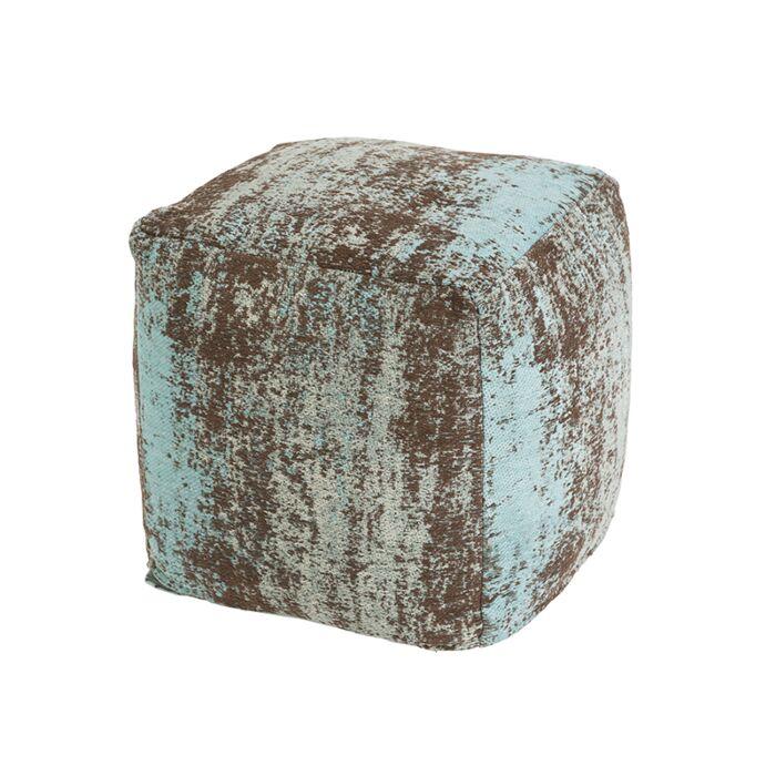 Vintage-Square-Ottoman-Faded-Turquoise-45x45x45cm---Kochi
