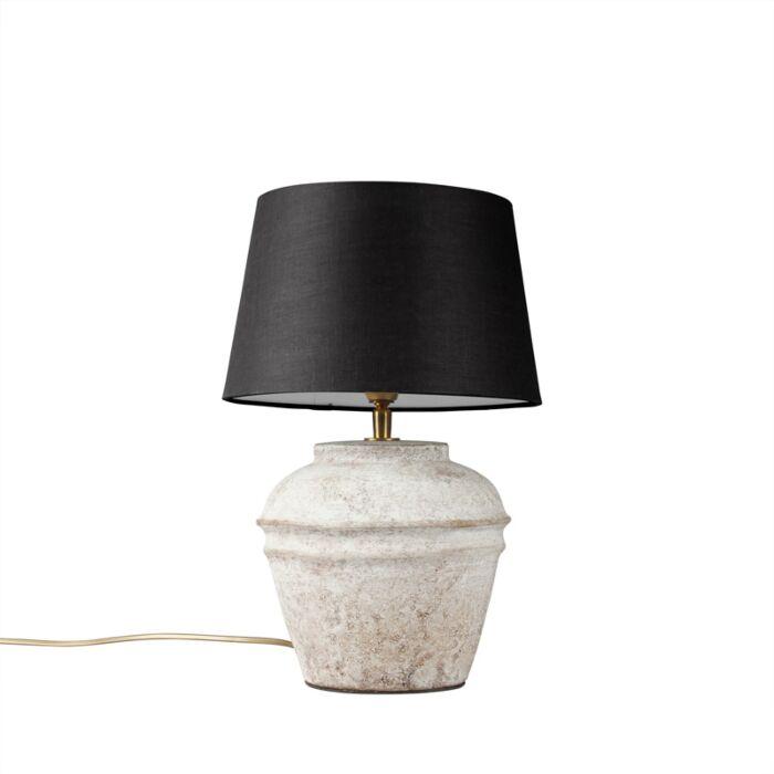 Table-Lamp-Arta-XS-Scotch-with-Black-Shade