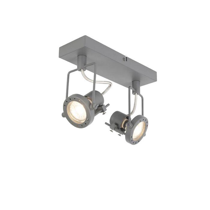 Industrial-spot-anthracite-2-light-swivel-and-tilt---Suplux