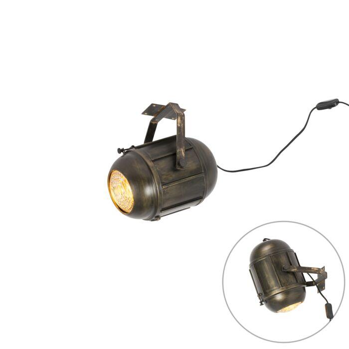 Vintage-Film-Spotlight-Ceiling-Lamp-Antique-Bronze---Broca
