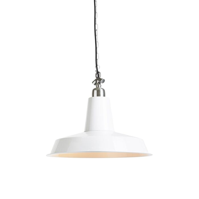 Industrial-hanging-lamp-white---Warrior