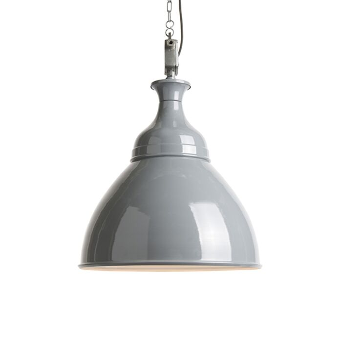 Industrial-hanging-lamp-gray-with-white---Bob
