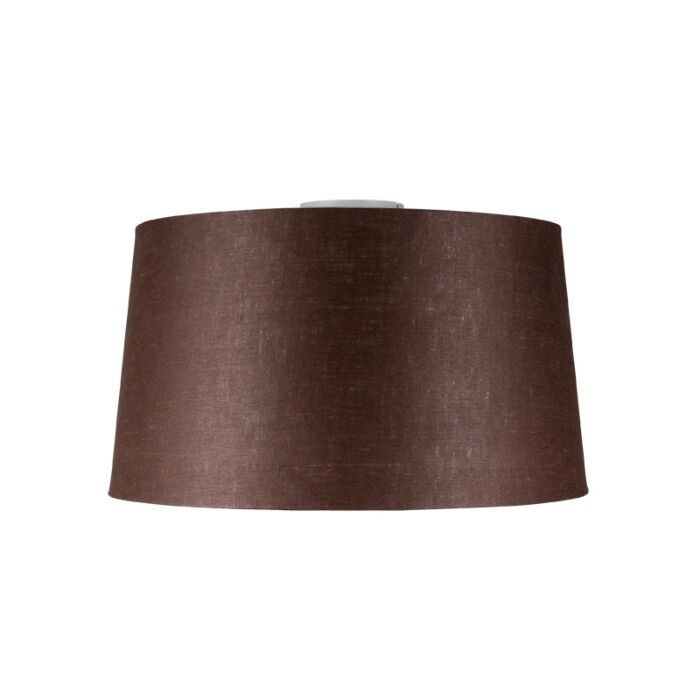 Ceiling-Lamp-Combi-Matte-White-with-Brown-Grey-Shade