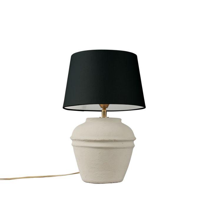 Table-Lamp-Arta-XS-Grey-with-Black-Shade