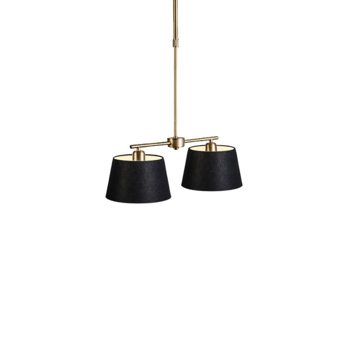 Pendant-Lamp-Mix-2-Bronze-with-Dimmer-Switch-and-Black-Shade