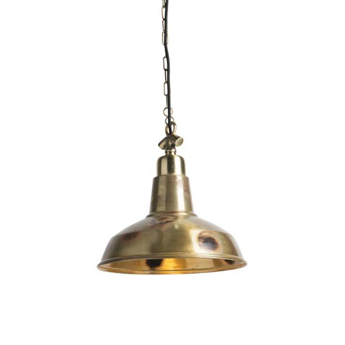Pendant-Lamp-Goliath-Medium-Distressed-Brass