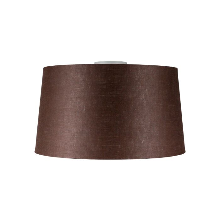 Ceiling-Lamp-Combi-White-with-Brown-Grey-Shade