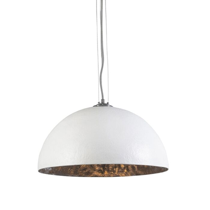 Pendant-Lamp-Magna-50-White-and-Silver