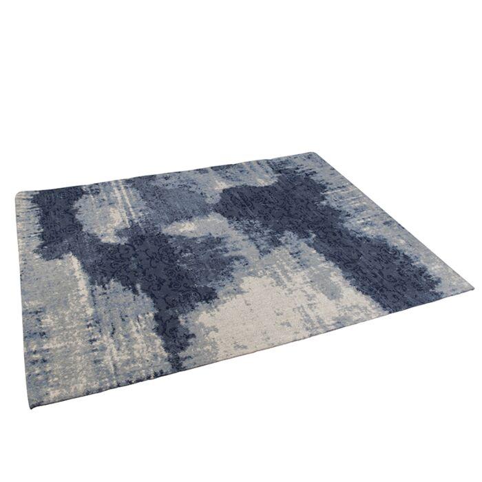 Vintage-Rug-Pattern-Blue-160x230cm---Puri