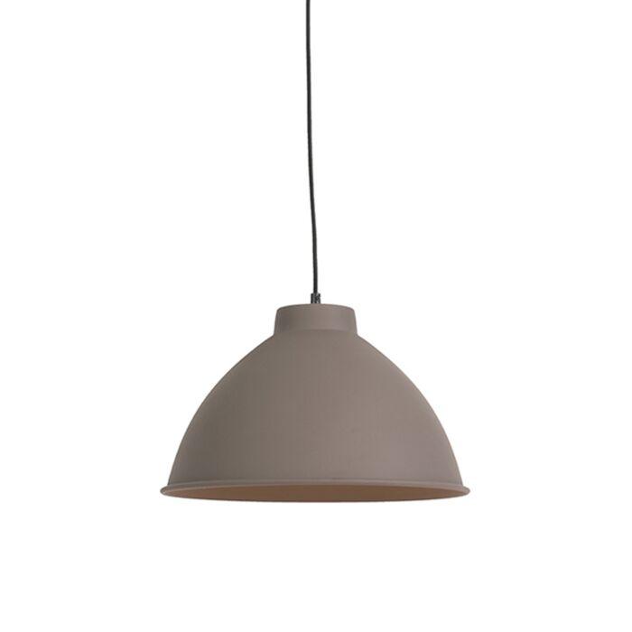 Country-hanging-lamp-brown---Anterio-38-Basic