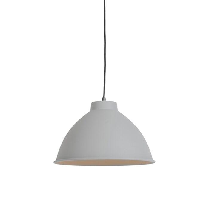 Scandinavian-hanging-lamp-gray---Anterio-38-Basic