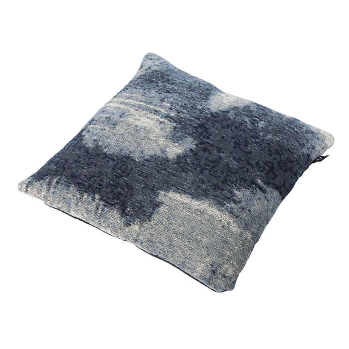 Vintage-Square-Pillow-Pattern-Blue-45x45cm---Puri