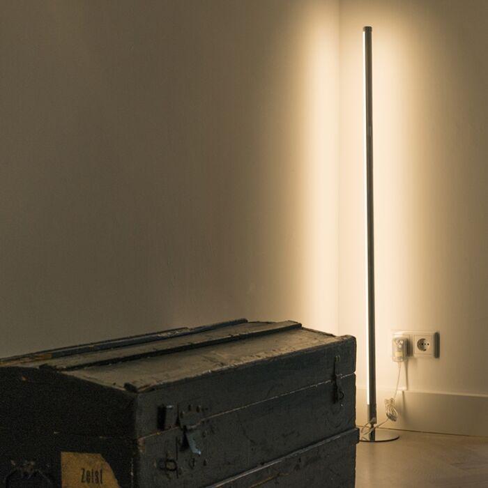 Modern-floor-lamp-LED-chrome---Line-up