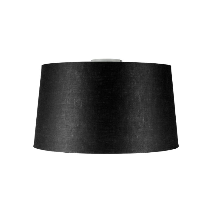 Modern-ceiling-lamp-white-with-black-shade-45-cm---Combi
