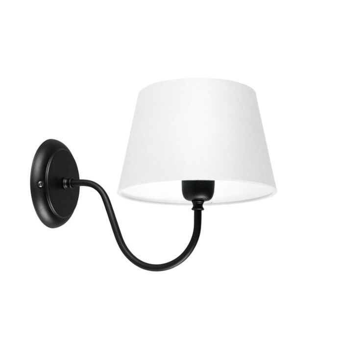 Wall-Lamp-Combi-Classic-Black-with-White-Shade