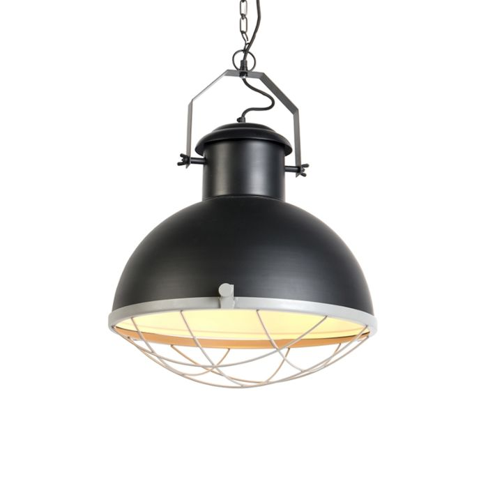 Industrial-hanging-lamp-black-with-gray---Engine