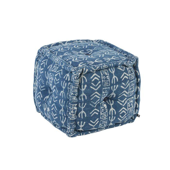 Square-Ottoman-40-x-40-Blue---Varanasi