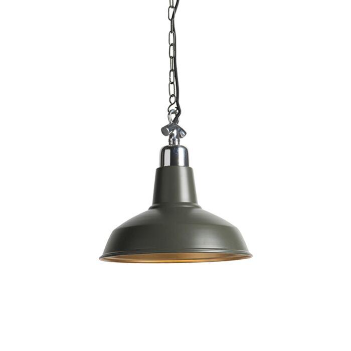 Pendant-Lamp-Goliath-Medium-Olive-Green