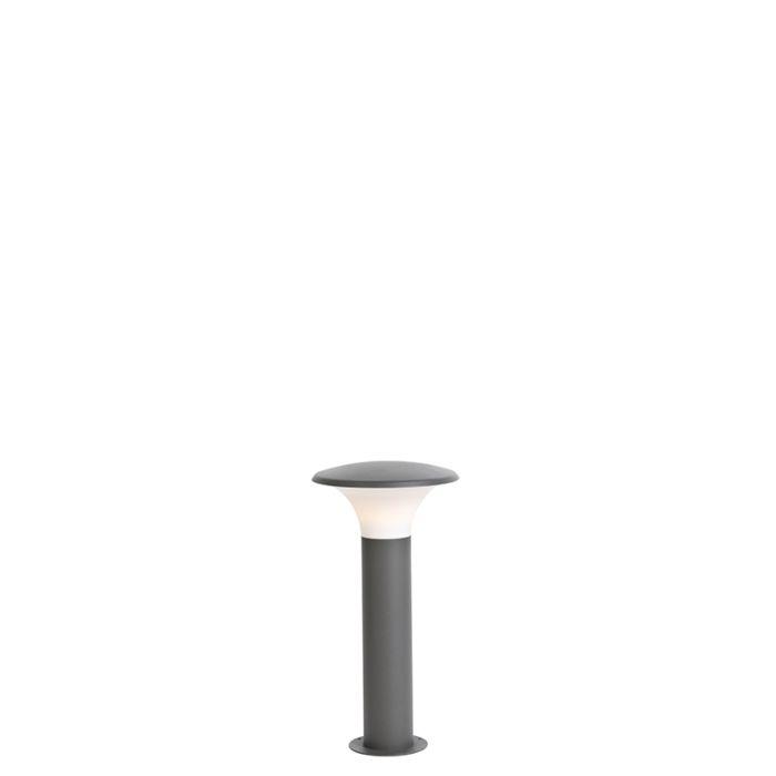 Modern-Outdoor-Pole-50cm-Dark-Grey-incl.-LED---Papi