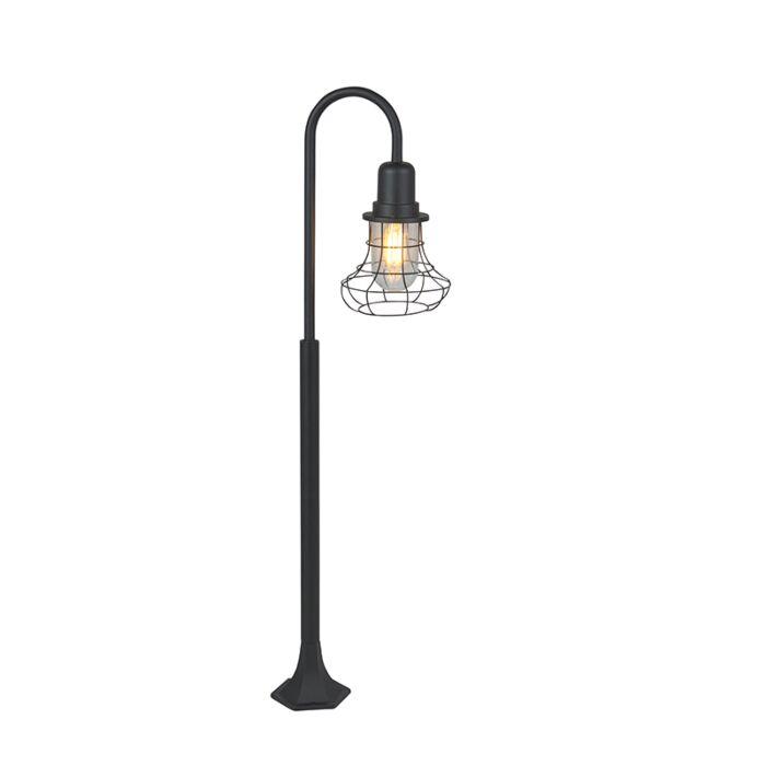 Rural-outdoor-lamp-black-IP44---Moreno